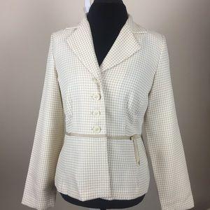 Women's Sz 12 Danielle Skirt Suit Set Blazer